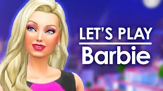 Let's Play The Sims 4 Barbie | S03E05 | Party Planner