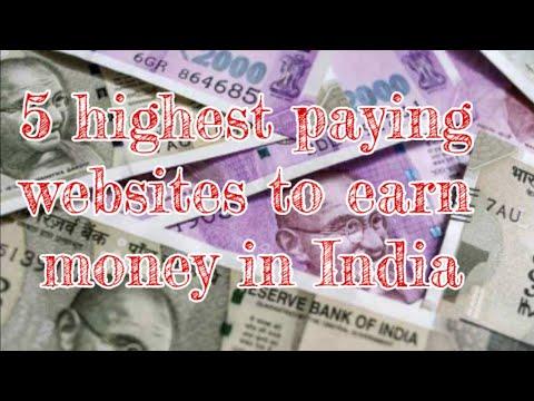 5 highest money earning websites in india//Dhruva channel