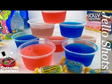 How to Make Jolly Rancher Jello Shots Recipe