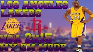 NBA 2K15 Lakers My GM Mode: PLAYOFFS!?!?! (EP5)