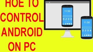 how to control android mobile on computer or laptop free 2017 by hani studio