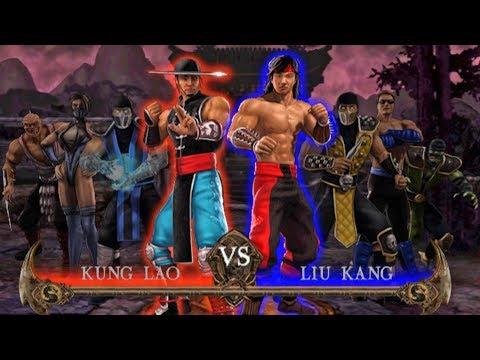 Mortal Kombat Shaolin Monks - Todos Fatalities / Multalities & Brutalities