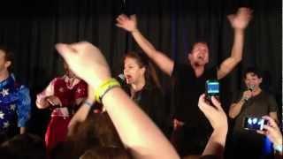 2012 Supernatural Dallas Con - Karaoke - Immigrant Song - Led Zeppelin