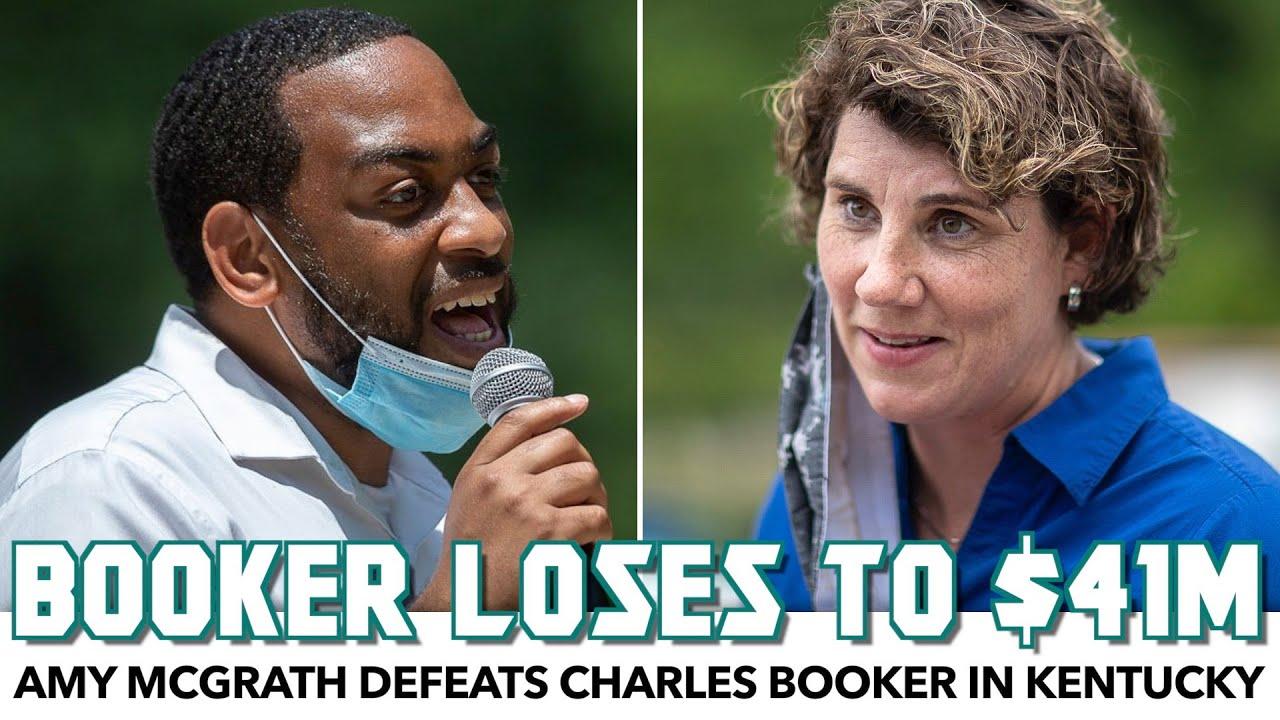 Amy McGrath Defeats Charles Booker In Kentucky