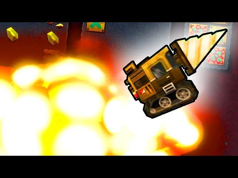 I Used The Hidden Shop To Buy Nukes in Super Motherload |