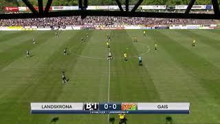Landskrona BOIS vs Gais 1-1  (Superettan 2018) - Höjdpunkter
