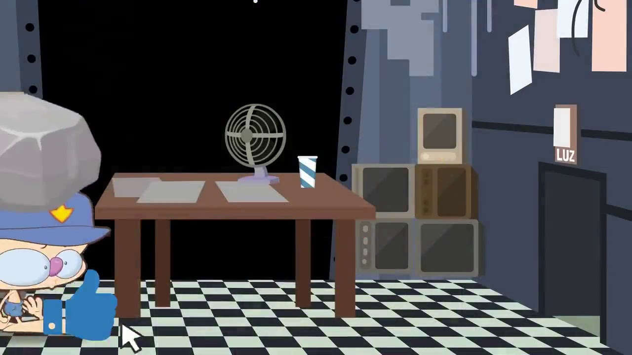 Mongo e Drongo em FNAF 2 - NOITE 2 - Five Nights at Freddy's 2 - desenho animado