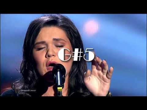 Dina Garipova - Vocal Range (E3-A5) live HD