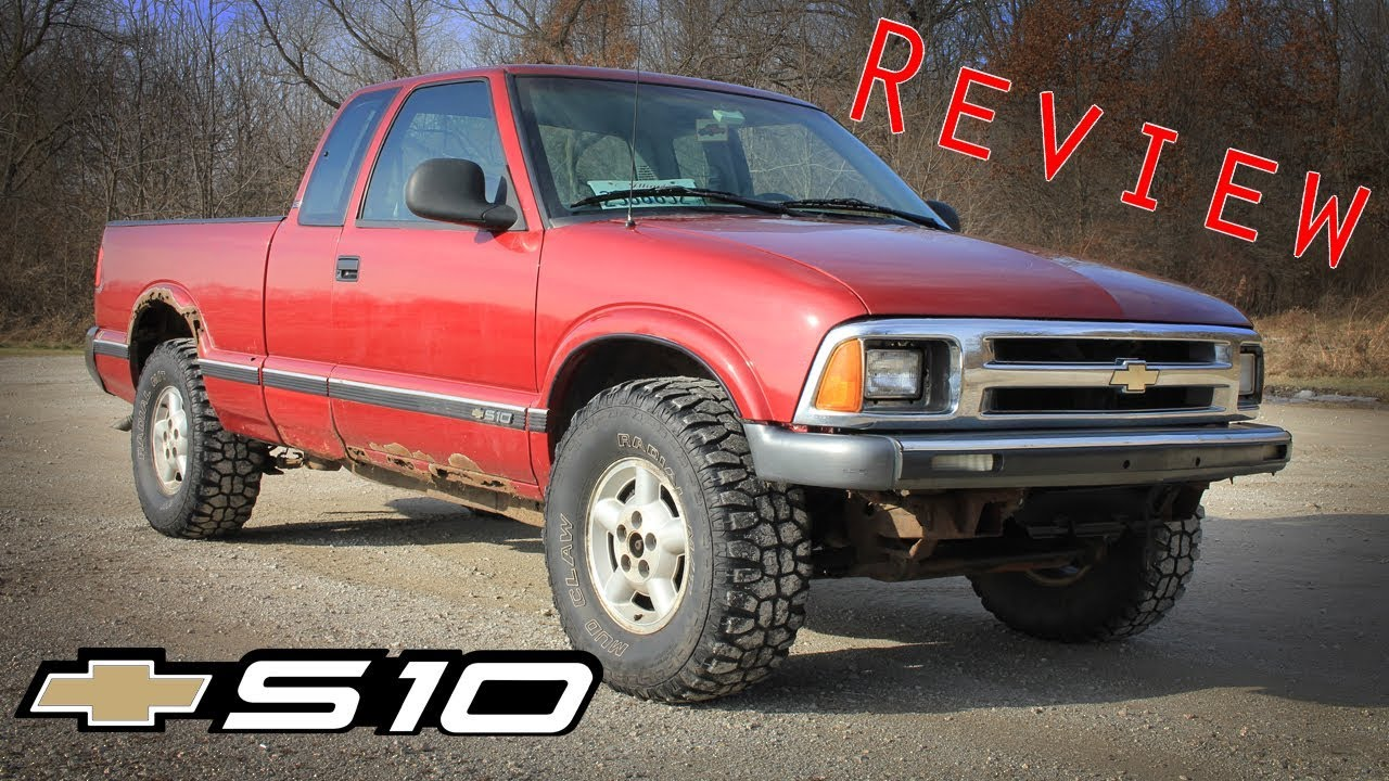 1995 Chevy S10 Review Youtube