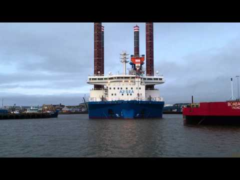 Sea Installer - (Offshore Crane Vessel) Esbjerg Part II.