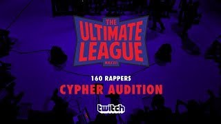 THE ULTIMATE LEAGUE (2017) EP.1 : 160 PLAYERS CYPHER AUDITION | RAP IS NOW