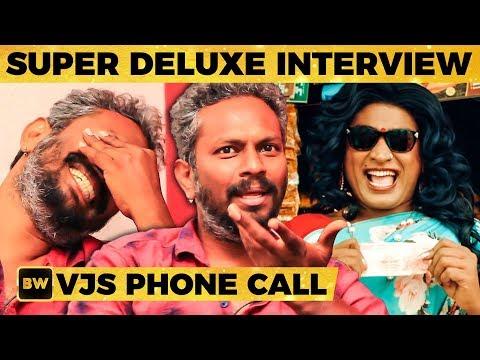 Super Deluxe: Vijay Sethupathi's First Reaction to Transgender Getup! -Thiagarajan Kumararaja|MY361