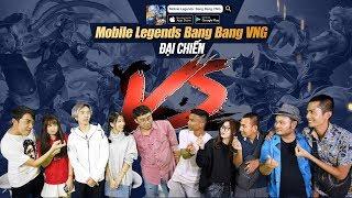 Đại ChiếnTeam Cris Devil Gamer, Mai Quỳnh Anh, Bé Chanh, Phim Cấp 3 vs Team FapTV | MOBILE LEGENDS