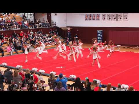 2017 BWHS Cheer Comp @ Canal Winchester