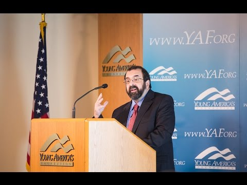 Robert Spencer at the High School Conference at the Reagan Ranch