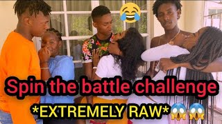 Spin the bottle challenge😱 *EXTREMELY FR🤫🤪KY / R😥W ft that girl brit