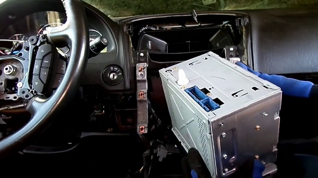 Chevrolet Malibu Radio Removal Youtube
