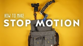 stop motion photography tutorial for beginners