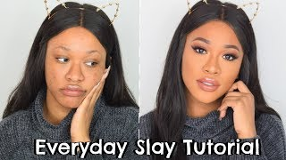 MY EVERY-SLAY MAKEUP ROUTINE USING PRODUCTS I LOVE AT THE MOMENT