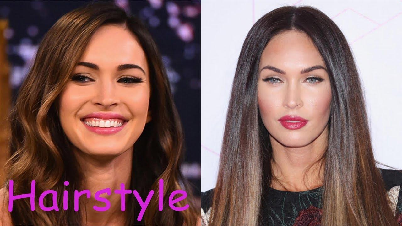 Megan Fox Hairstyle 2018 Youtube