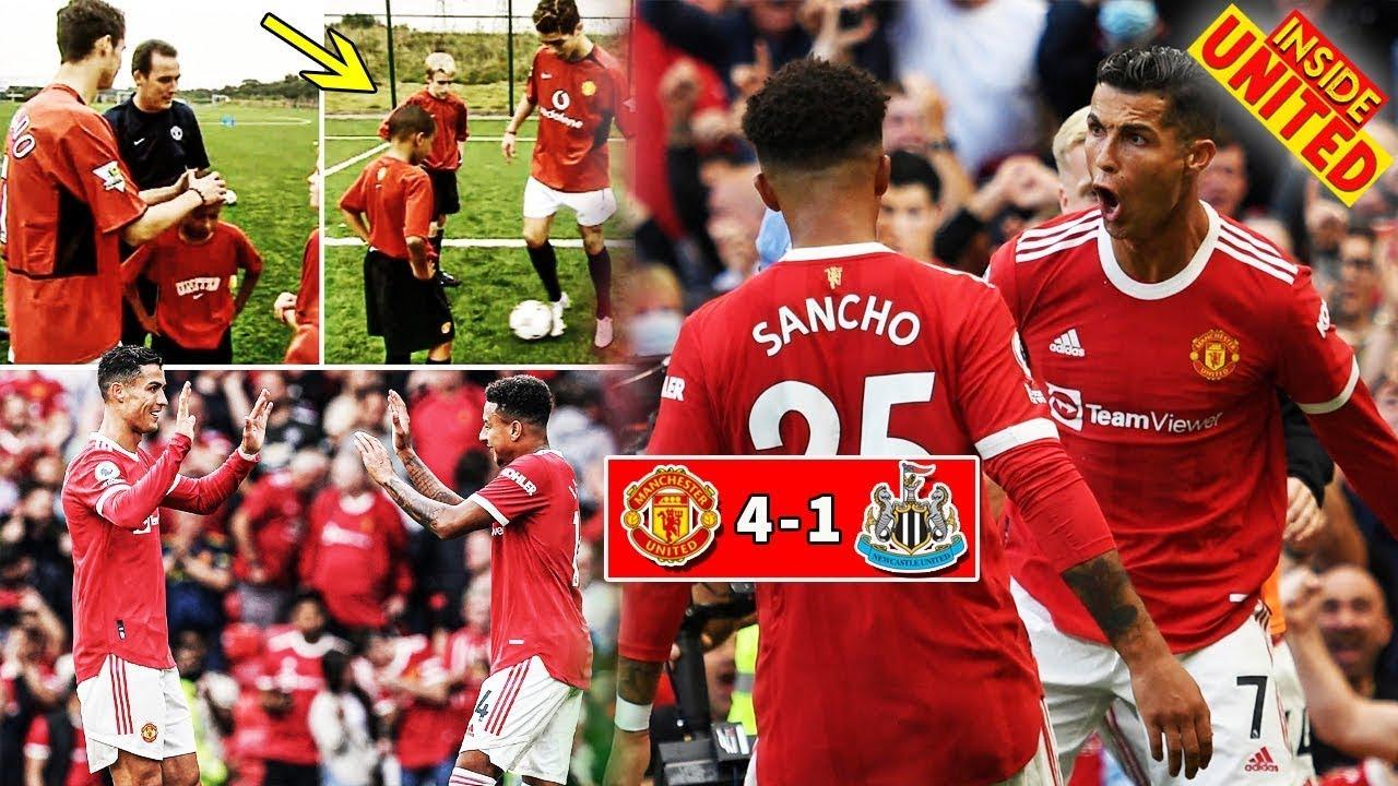 MAN UTD NEWS : ❗Ronaldo 2 Goal, Pogba 2 Asisst, B.Fernandes 1 Goal Long Range Shot🏆Man United News