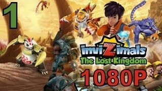 Invizimals The Lost Kingdom - PS3 1080P Let's Play Walkthrough Part 1 - Ocelotl is AWESOME!