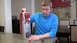SodaStream Home Soda Maker, Carbonater - Review and Demo