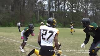 Riverdale Spartans Semi-Pro Football - 03-23-18 - vs Dalton Danger - Game Video Clips