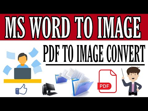 Convert Word File Into  Image || Photo