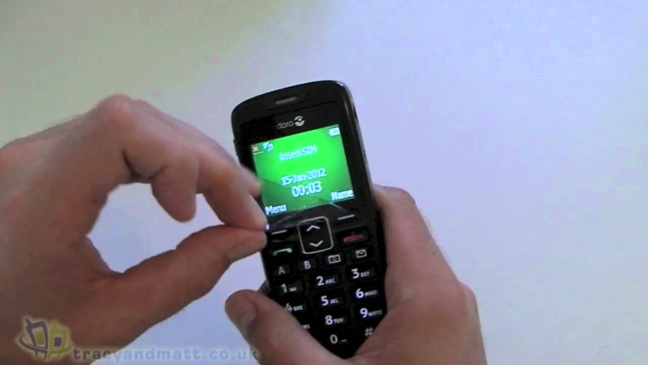 Doro Phoneeasy Unboxing Video Youtube