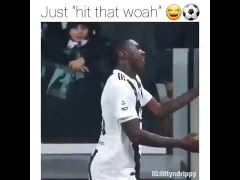 Moise Kean Hitting That Woah Youtube