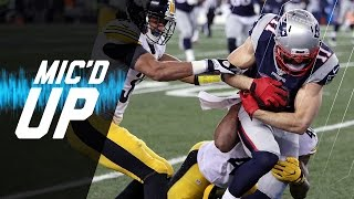 Steelers vs. Patriots (AFC Championship) Mic'd Up Highlights | NFL Films | Sound FX