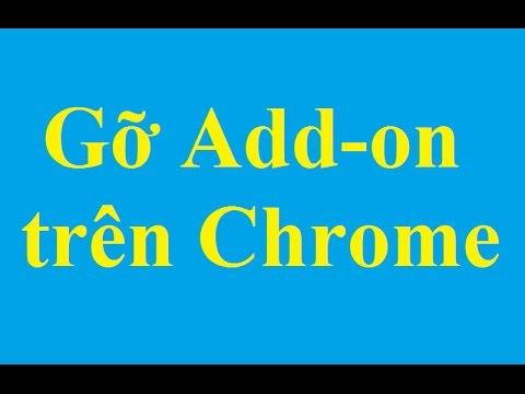 Gỡ bỏ Add-on (Extension) trên trình duyệt Google Chrome – Taimienphi.vn