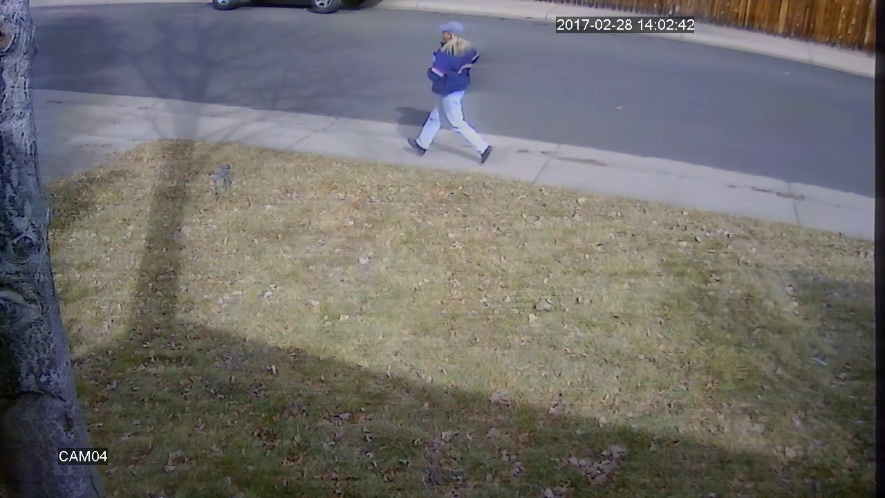 Funny Video: Runaway Mail Truck Runs Over Mailboxes