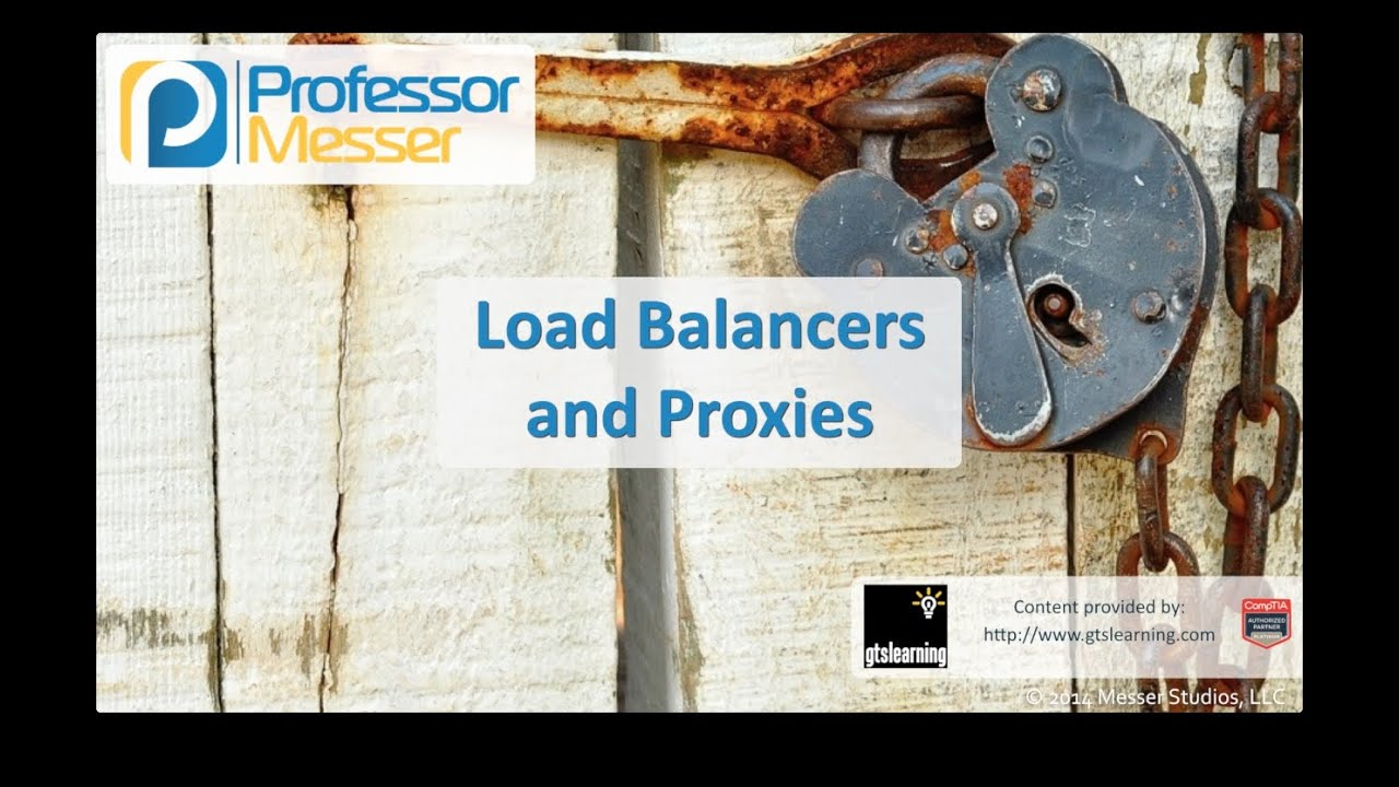 Load Balancers and Proxies - CompTIA Security+ SY0-401: 1.1