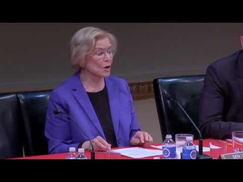 Ellen Burstyn as Senator Elizabeth Warren - Scenes from All The President's Men?