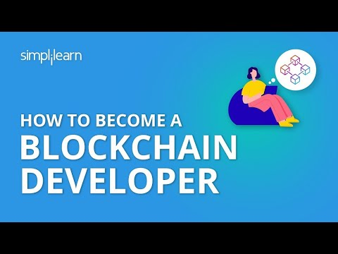 How to Become A Blockchain Developer | Blockchain Developer Training |Blockchain Career |Simplilearn