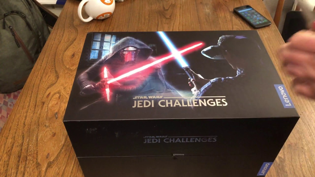 Lenovo Star Wars Jedi Challenges AR Set Unboxing - YouTube
