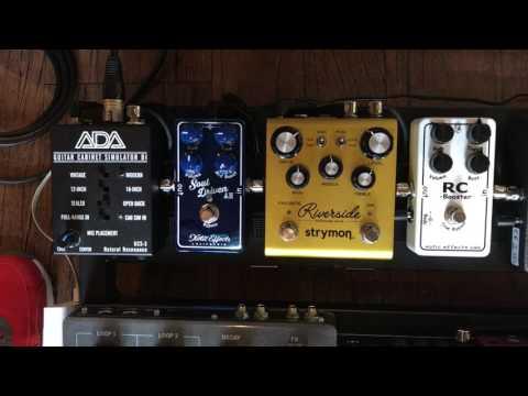 어쿠스틱 기타로 일랙기타 사운드 내보기 /  ADA GCS-3 / 원미사운드