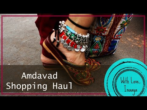 Ahmedabad Haul | Street Shopping | With Love Inaaya