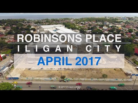 Robinsons Place Iligan April 2017 Progress Update 4K