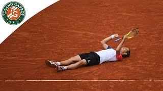 Kei Nishikori v Richard Gasquet Highlights - Men's Round 4 2016 - Roland-Garros