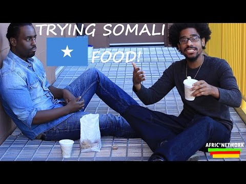 Trying Somali Food