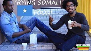 Trying Somali Food