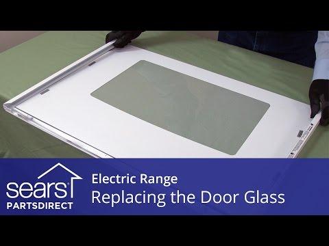 Replacing the Oven Door Glass in an Electric Range