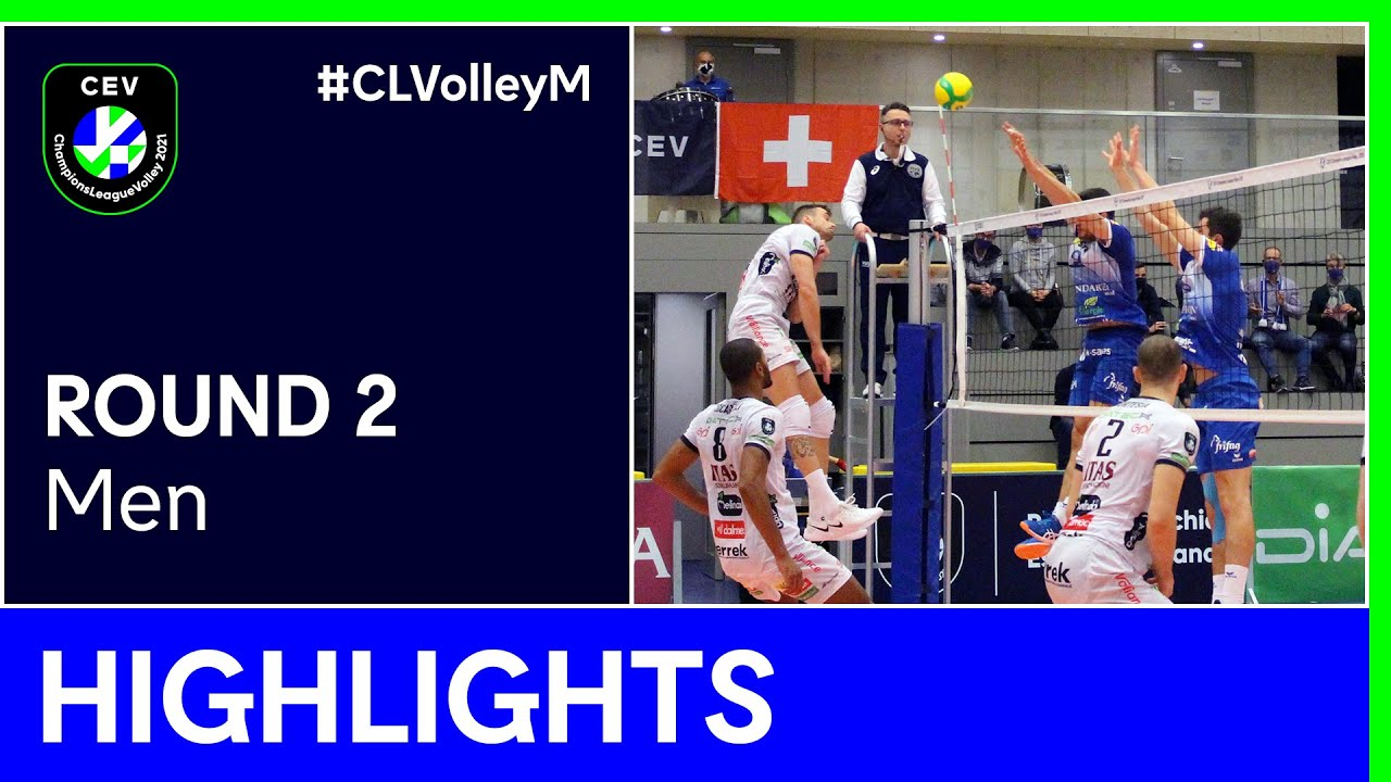 TRENTINO Itas vs. Lindaren Volley AMRISWIL Highlights - #CLVolleyM
