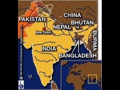 Super easy trick to remember neighboring countries of india youtube gumiabroncs Choice Image