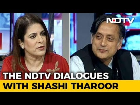 The NDTV Dialogues With Shashi Tharoor