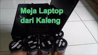 Kerajinan Tangan dari barang Bekas ~ Membuat Meja Laptop dari kaleng