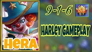 Mobile Legends- HARLEY GAMEPLAY (HERA)
